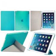 Фото Чехол для планшетного ПК IT BAGGAGE для iPad Air 9.7 hard case искус. кожа синий с тонированной задней стенкой ITIPAD501-4