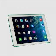Фото Чехол для планшетного ПК IT BAGGAGE для iPad Air 9.7 hard case искус. кожа бирюзовый с тонированной задней стенкой ITIPAD501-
