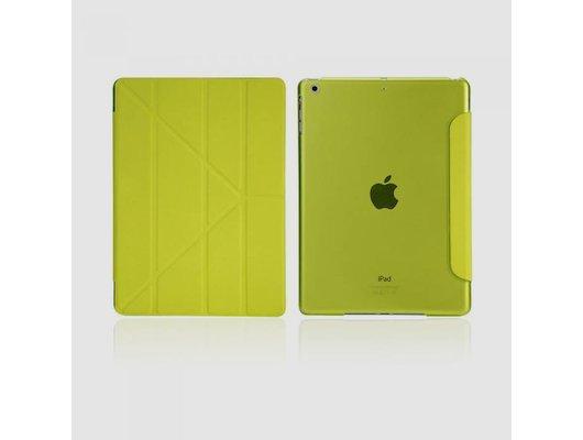 Чехол для планшетного ПК IT BAGGAGE для iPad Air 9.7 hard case искус. кожа лайм с тонированной задней стенкой ITIPAD501-5