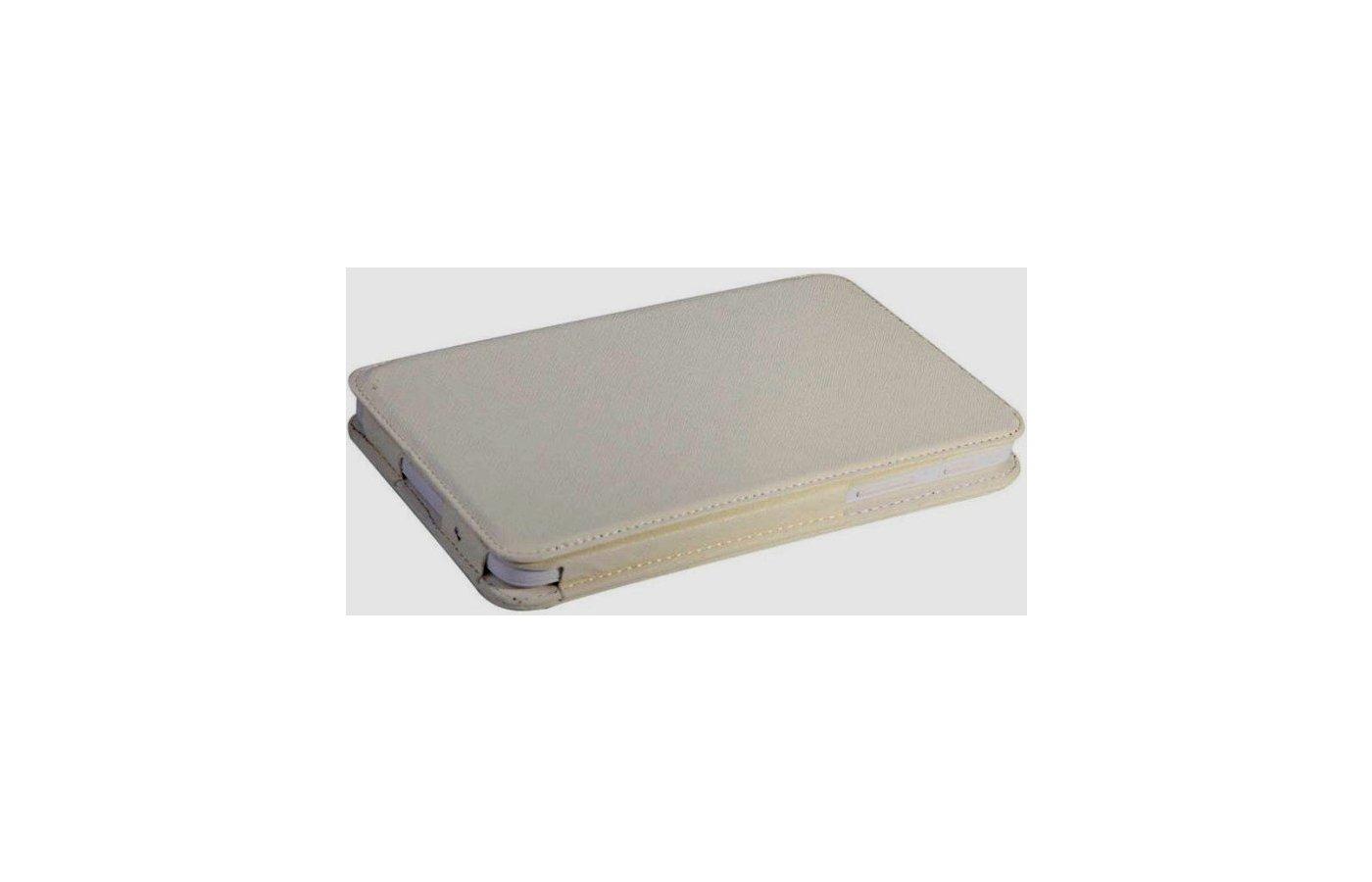 Чехол для планшетного ПК IT BAGGAGE для SAMSUNG Galaxy Tab3 Lite 7.0 SM-T110/111 искус.кожа белый ITSSGT73L03-0