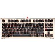 Клавиатура проводная A4Tech Bloody B830 золотистый/черный USB Gamer LED