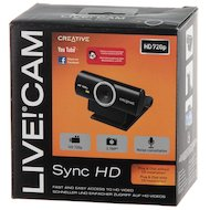 Фото Веб-камера Creative Live! Cam Sync HD черный 3.7Mpix USB2.0 с микрофоном