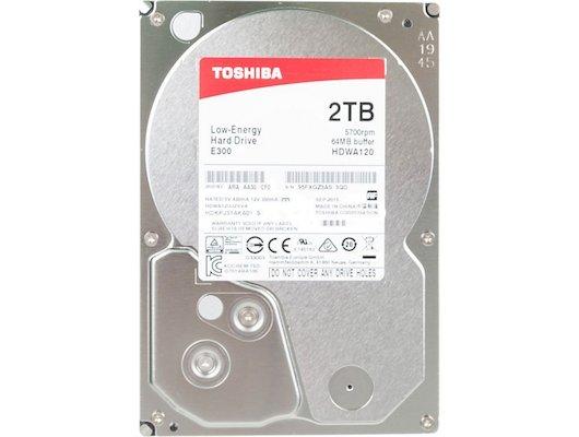 "Жесткий диск Toshiba SATA-III 2Tb HDWA120UZSVA E300 (5700rpm) 64Mb 3.5"""