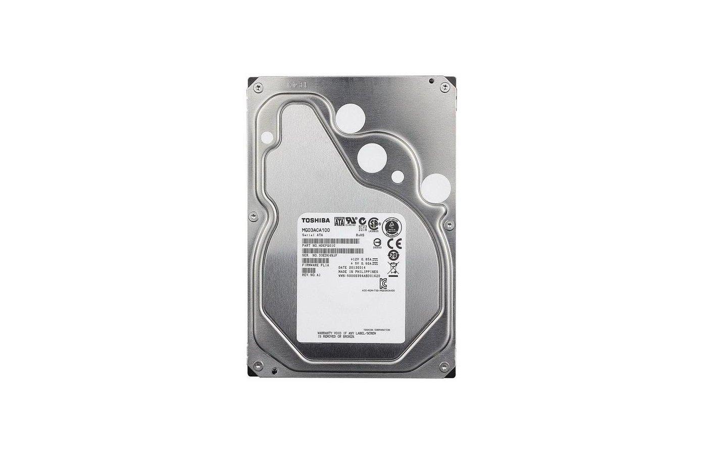Жесткий диск Toshiba MG03ACA100 SATA3 1Tb 7200 rpm 64Mb