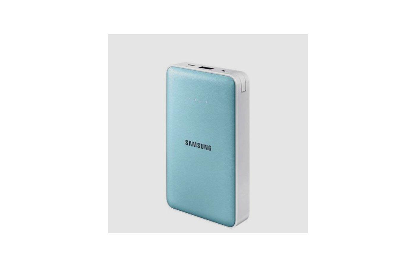 Портативный аккумулятор Samsung EB-PN915 11.3mAh голубой (EB-PN915BLRGRU)