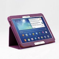 Фото Чехол для планшетного ПК IT BAGGAGE для SAMSUNG Galaxy Tab4 (10.1) искус. кожа фиолетовый ITSSGT1042-4