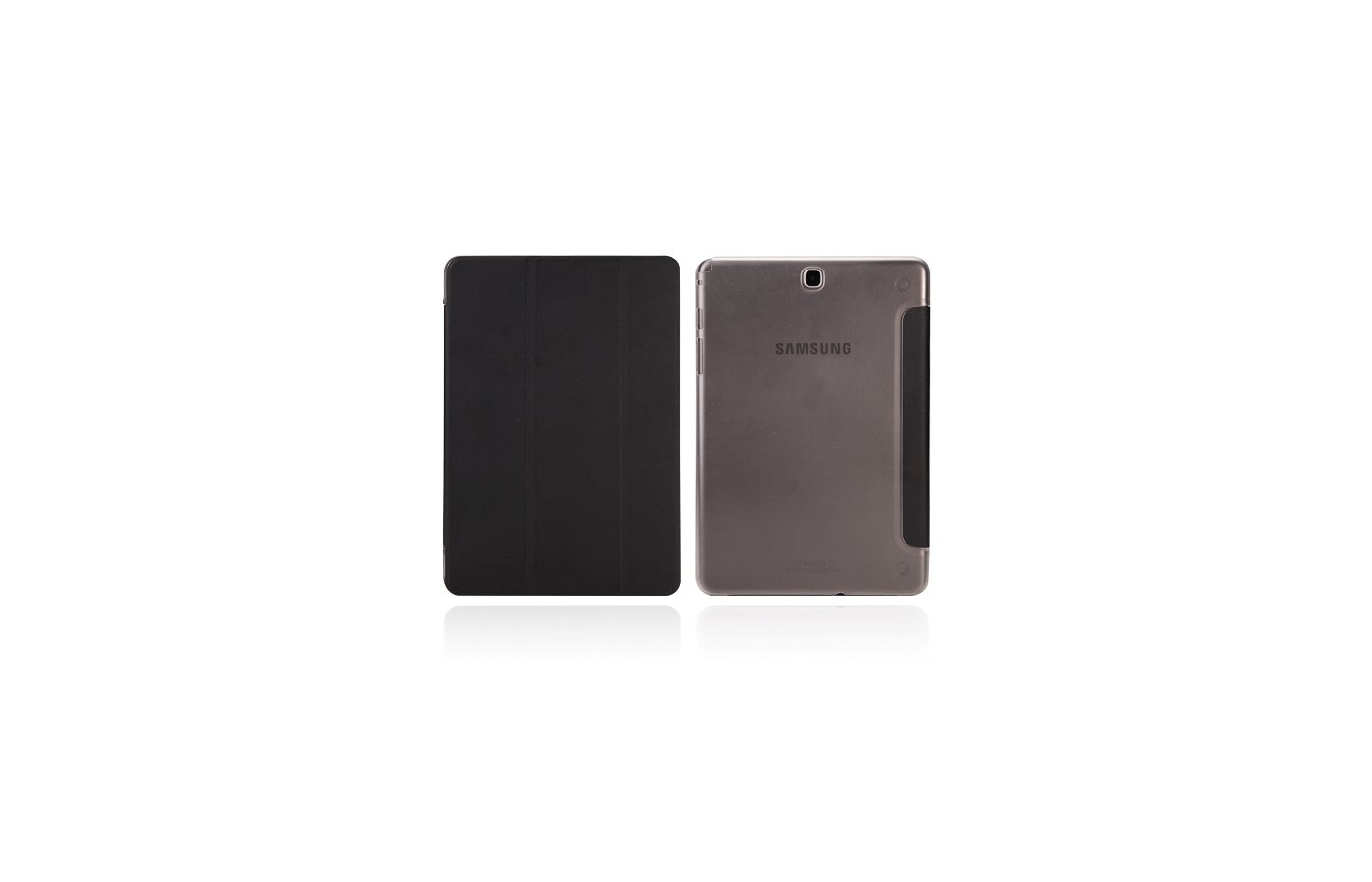 Чехол для планшетного ПК IT BAGGAGE для SAMSUNG Galaxy Tab A 9.7 hard case искус. кожа черный ITSSGTA9707-1