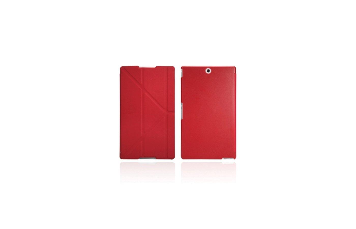 Чехол для планшетного ПК IT BAGGAGE для SONY Xperia TM Tablet Z3 8 пластик/ искус. кожа красный ITSYZ301-3