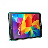 Фото Чехол для планшетного ПК IT BAGGAGE для SAMSUNG Galaxy Tab4 8 hard case искус. кожа бирюзовый с тонированной задней стенкой I