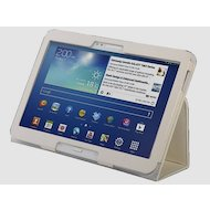 Фото Чехол для планшетного ПК IT BAGGAGE для SAMSUNG Galaxy Tab4 (10.1) искус. кожа белый ITSSGT1042-0