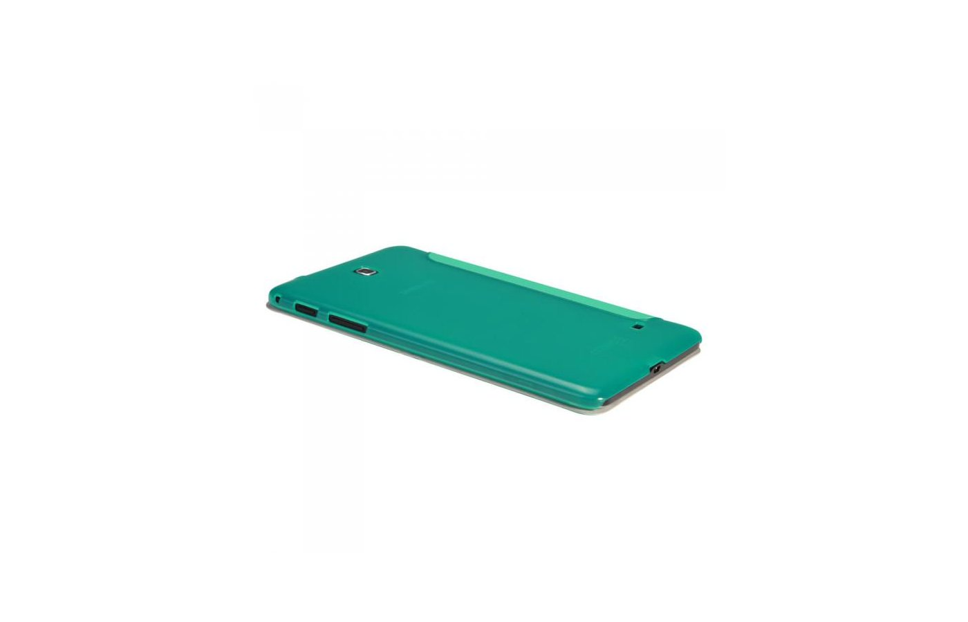 Чехол для планшетного ПК IT BAGGAGE для SAMSUNG Galaxy Tab4 8 hard case искус. кожа бирюзовый с тонированной задней стенкой I