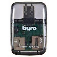 Картридер USB2.0 Buro BU-CR-110 черный