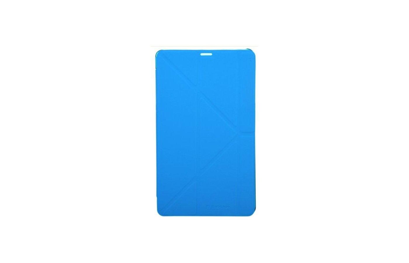 Чехол для планшетного ПК IT BAGGAGE для SAMSUNG Galaxy TabS 8.4 hard case искус. кожа синий с тонированной задней стенкой ITS