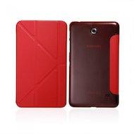 Чехол для планшетного ПК IT BAGGAGE для SAMSUNG Galaxy Tab4 7 hard case искус. кожа красный с тонированной задней стенкой ITS