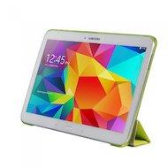 Фото Чехол для планшетного ПК IT BAGGAGE для SAMSUNG Galaxy Tab4 10.1 hard case искус. кожа лайм с тонированной задней стенкой ITS