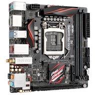 Фото Материнская плата Asus Z170I PRO GAMING Soc-1151 Intel Z170 2xDDR4 mini-ITX AC`97 8ch(7.1)