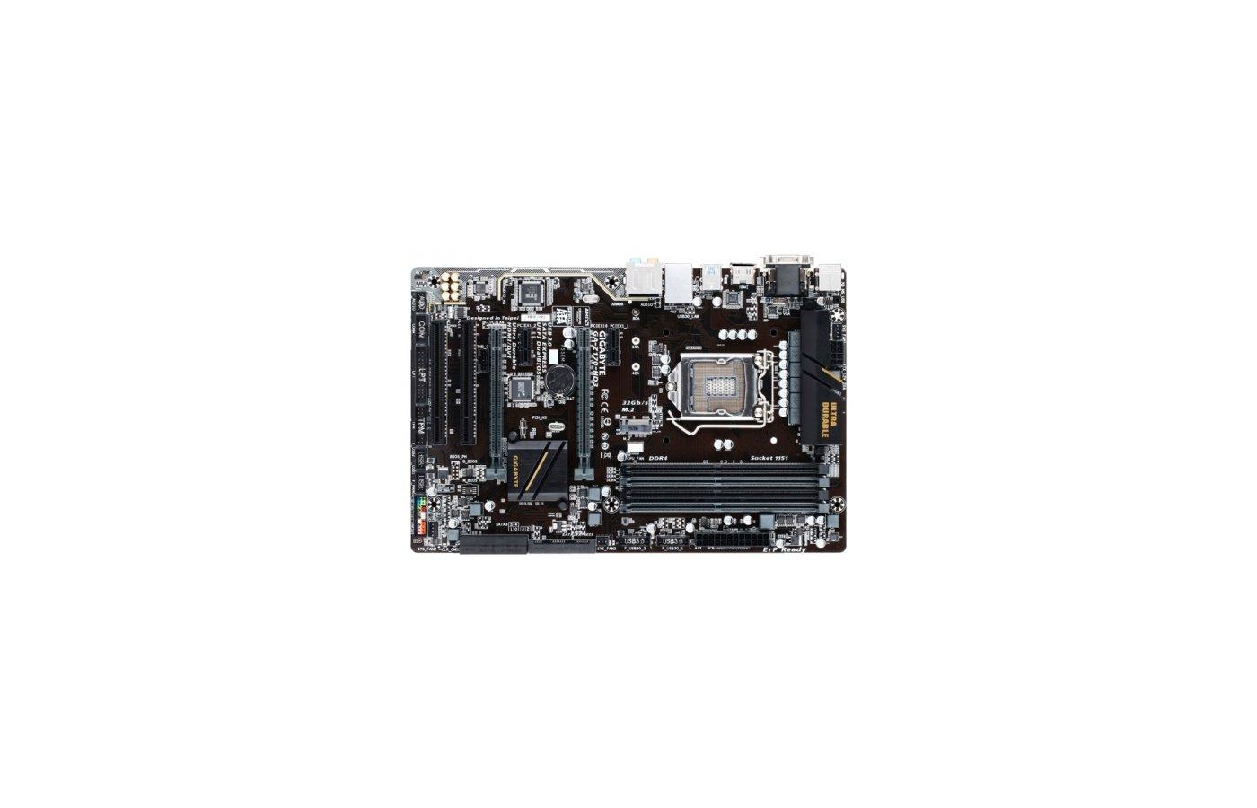 Материнская плата Gigabyte GA-Z170-HD3 Soc-1151 Intel Z170 4xDDR4 ATX AC`97 8ch(7.1)