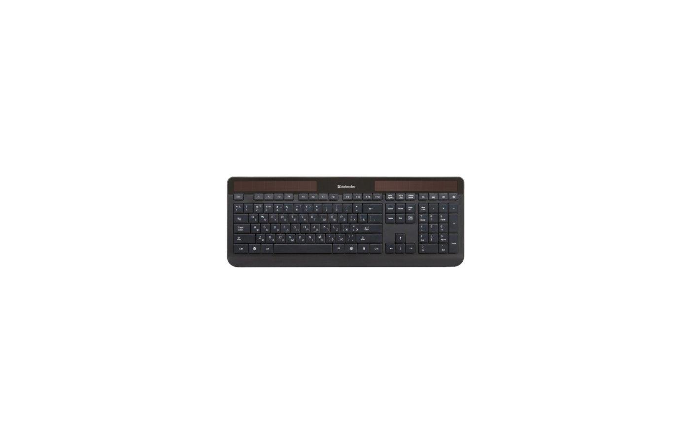 Клавиатура проводная Defender Infinity SM-615 Nano B