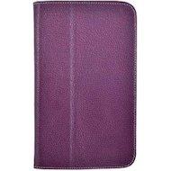 """Фото Чехол для планшетного ПК Jet.A (SC8-26) для Samsung GT3 8"""" из натуральной кожи фиолетовый/серый интерьер"""