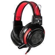 Наушники с микрофоном проводные Oklick HS-G300 белый/черный 2.5м (AH-V1W)