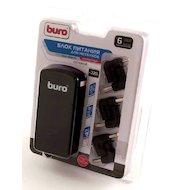 Фото Сетевой адаптер для ноутбука BURO BUM-0061A40 автоматический 40W 9.5V-19V 6-connectors 1xUSB 1A от бытовой электросети