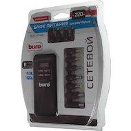Фото Сетевой адаптер для ноутбука BURO BUM-0065A90 автоматический 90W 15V-20V 11-connectors 1xUSB 2.1A от бытовой электросети LСD инди