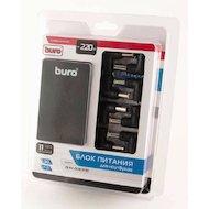 Фото Сетевой адаптер для ноутбука BURO BUM-0087A90 автоматический 90W 15V-20V 11-connectors от бытовой электросети