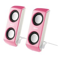 Фото Компьютерные колонки Trust Portable Notebook Speakers Pink