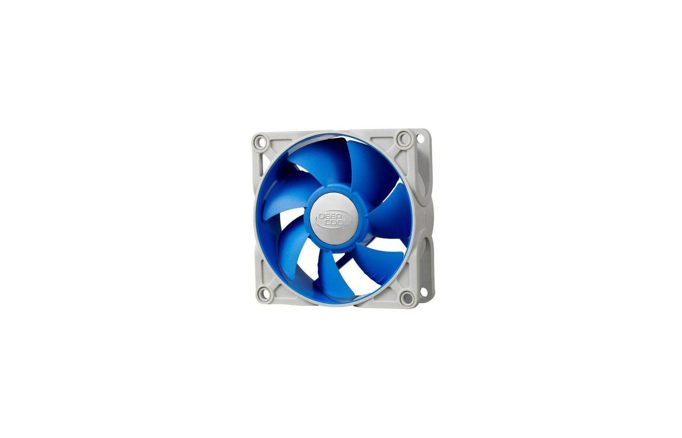 Охлаждение Deepcool UF 80 80x80x25 4pin 18-23dB 900-2200rpm 111g anti-vibration для корпуса