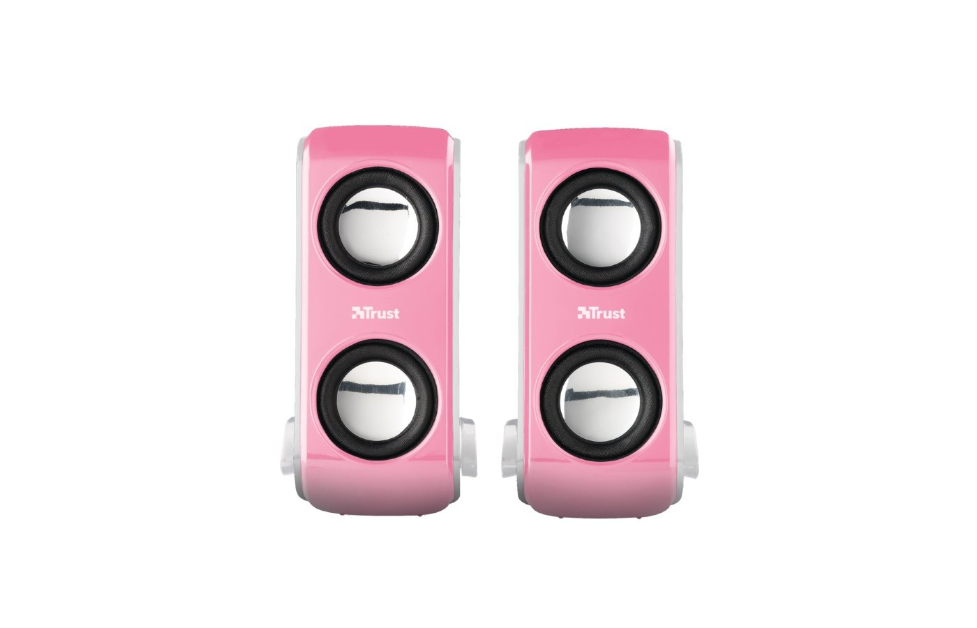 Компьютерные колонки Trust Portable Notebook Speakers Pink