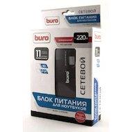 Фото Сетевой адаптер для ноутбука BURO BUM-1245M90 ручной 90W 12V-24V 11-connectors 1xUSB 1A от бытовой электросети LED индикатор