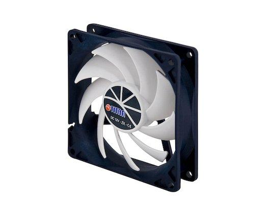 Охлаждение Titan TFD-9225H12ZP/KU(RB) 90x90x25 4pin 10-25dB 900-2600rpm 126g Z-AXIS для корпуса