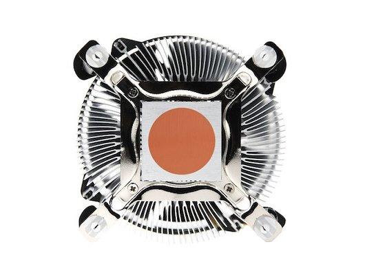 Охлаждение Titan TTC-NA02TZ/RPW1 Soc-1150/1155/1156 4pin 14-33dB Al 105W 427g клипсы Z-AXIS