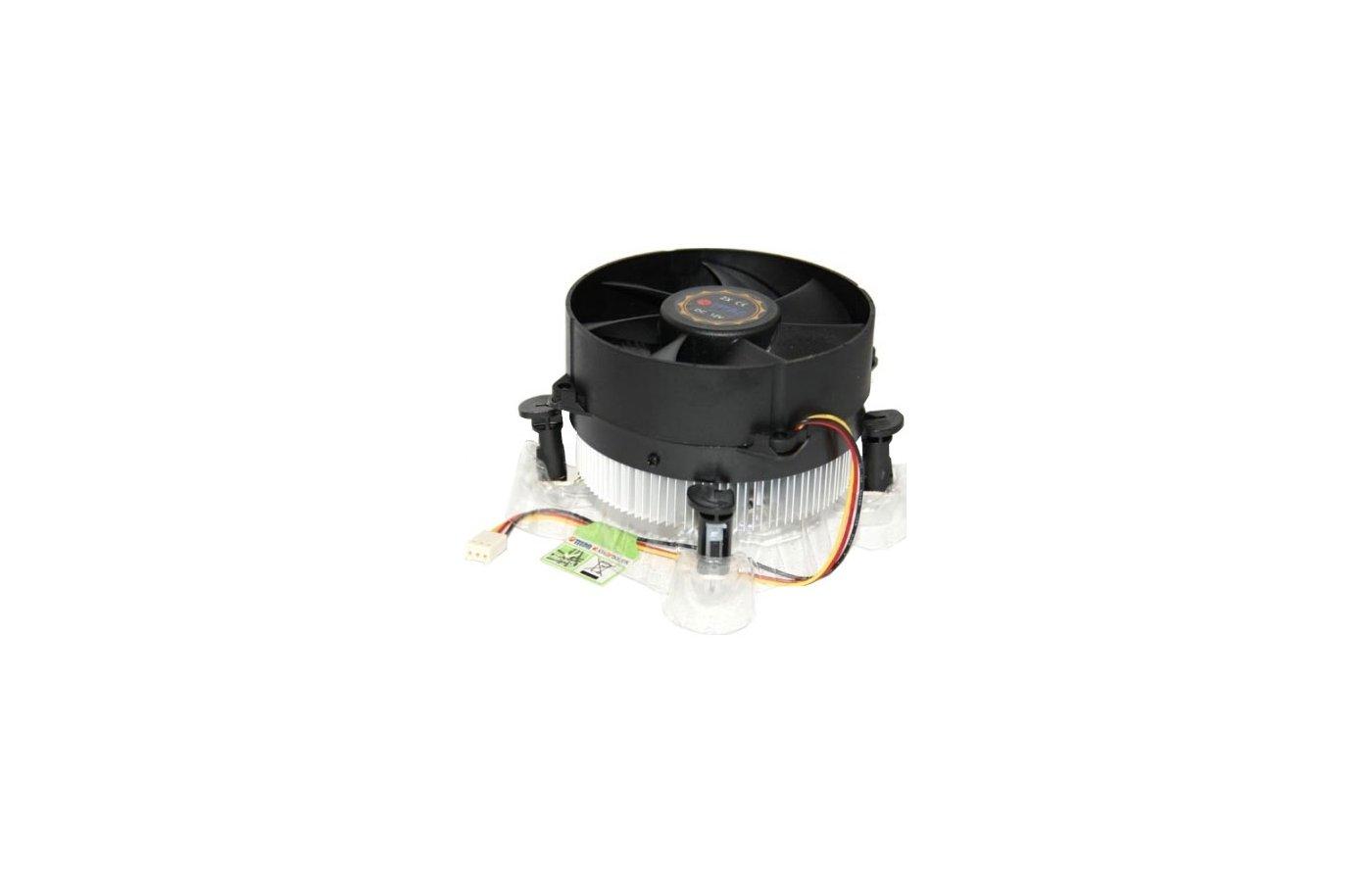 Охлаждение Titan TTC-NA12TZ/R Soc-1150/1155/1156 3pin 27dB Al 95W 350g клипсы Z-AXIS