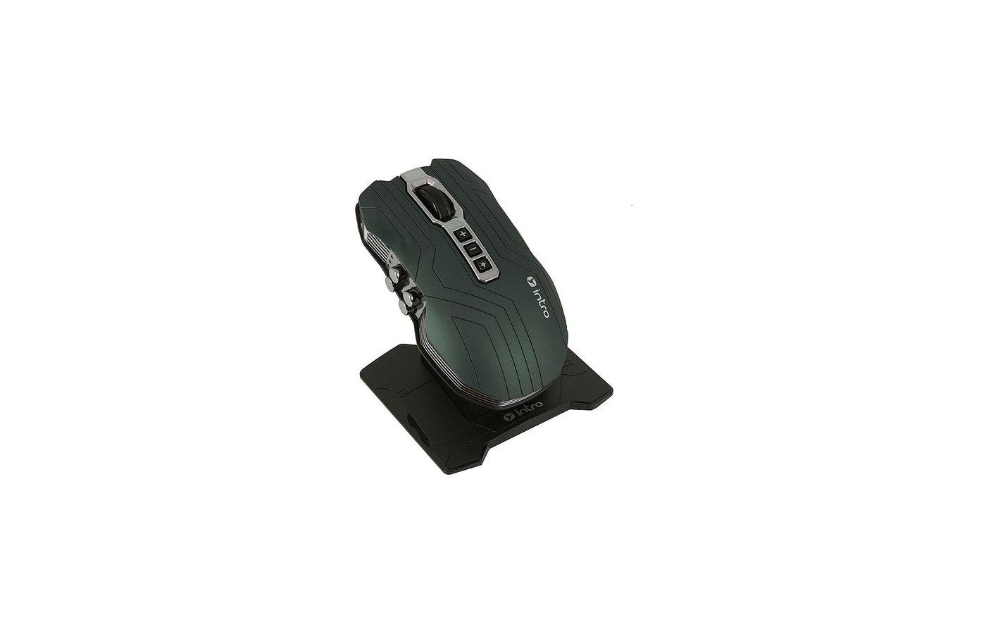 Мышь проводная Intro MW606X Black USB