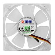 Фото Охлаждение Titan TFD-C802512Z/TC(RB) 80x80x25 3pin 21-34dB 1500-3300rpm для корпуса 100g термодатчик