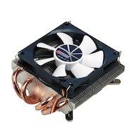 Фото Охлаждение Titan TTC-NC25TZ/PW(RB) Soc-AMD/775/1366/1150/1155/1156/ 4pin 35dB Al+Cu 130W 450g винты Z-AXIS RTL