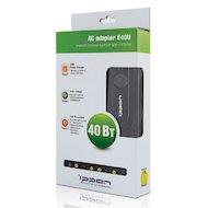 Фото Сетевой адаптер для ноутбука Ippon E40U автоматический 40W 9.5V-20V 5-connectors 0.7A 1xUSB 2.1A от бытовой электросети LED индик
