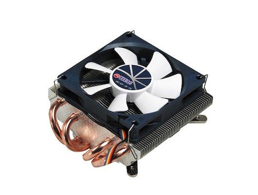 Охлаждение Titan TTC-NC25TZ/PW(RB) Soc-AMD/775/1366/1150/1155/1156/ 4pin 35dB Al+Cu 130W 450g винты Z-AXIS RTL