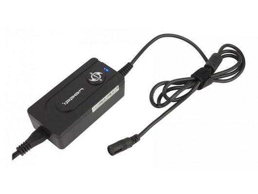 Сетевой адаптер для ноутбука Ippon E40U автоматический 40W 9.5V-20V 5-connectors 0.7A 1xUSB 2.1A от бытовой электросети LED индик