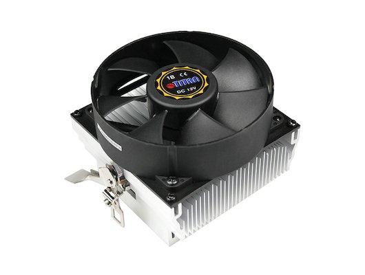 Охлаждение Titan DC-K8M925B/R Soc-AM3+/FM1/FM2 3pin 25dB Al 95W 295g скоба