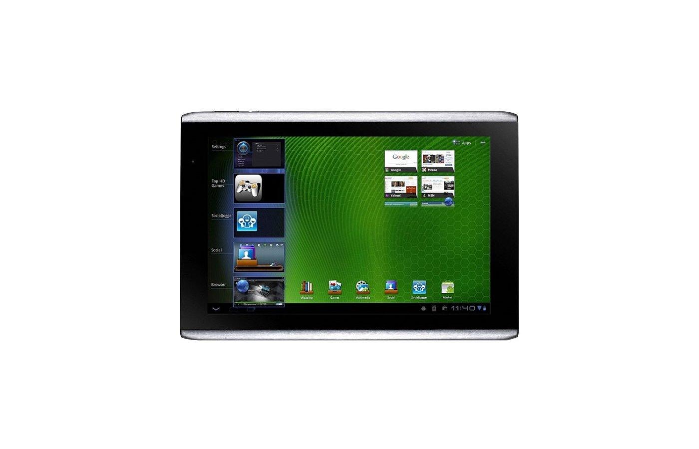 wi-fi, bluetooth gps вес 765 г аппаратной основой планшета