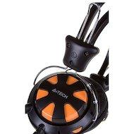 Фото Игровые наушники проводные A4Tech HS-28 (Orange Black)