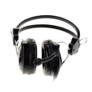 Фото Игровые наушники проводные A4Tech HS-19-1 Iron Grey