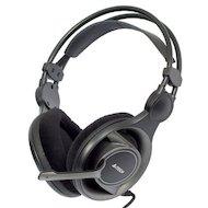 Фото Наушники с микрофоном проводные A4Tech HS-100 черный 2