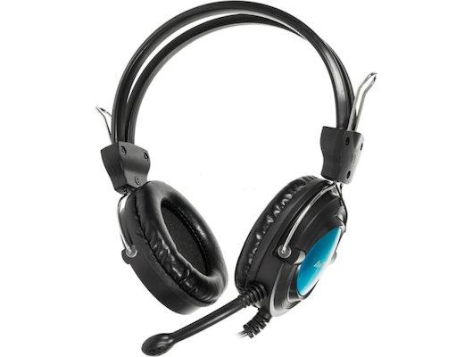 Игровые наушники проводные A4Tech HS-19-3 Blue