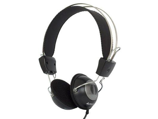Наушники с микрофоном проводные A4Tech HS-23