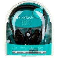 Фото Наушники с микрофоном проводные Logitech H390 USB (981-000406)