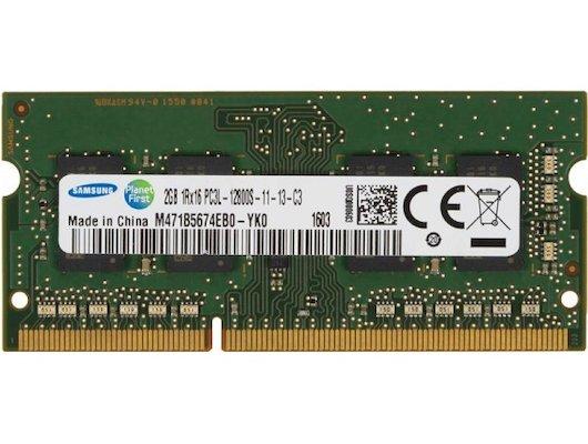 Оперативная память Samsung M471B5674EB0-YK0 OEM PC3-12800 CL11 DDR3 2Gb 1600MHz SO-DIMM