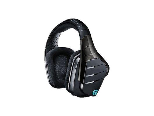 Игровые наушники беспроводные Logitech Headset G933 Wireless Gamig Artemis Scpectrum RGB 7.1 SURROUND (981-000599)